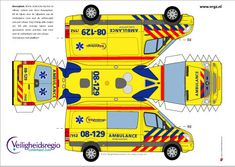 Paper Fire Engine Model | YorLogo® is een onderdeel van Cees Oosterom Design en Communicatie ...