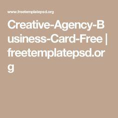 Creative-Agency-Business-Card-Free | freetemplatepsd.org