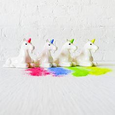 Neon Unicorn Glitter Dispenser  by EarthSeaWarrior