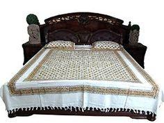 Indian Bedding Bedspread Bedcover Tapestry : Indian Summer Cotton Bedspread Bedding