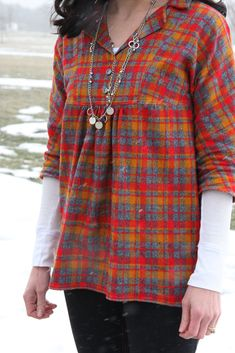 WIWW {Late Lunch Tunic Style   Pattern Review}