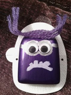 Evil minion.  Anybody else decorate the OmniPod??