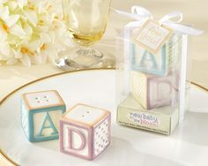 salt and pepper shaker baby shower favors $3.15