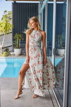 This Endless Summer Maxi Dress is made with high-quality flowy Rayon fabric. Ethical Fashion, Slow Fashion, Boho Fashion, Womens Fashion, Fashion Outfits, Summer Maxi, Summer Dresses, Summer Outfits, Spring Summer
