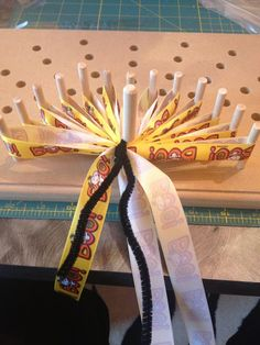"""The best bow maker!  """"The Hand"""" bow maker by Regina Sellers."""