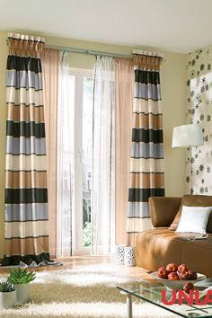 Unland Tamino Mocca Fensterideen Vorhang Gardinen Und Sonnenschutz