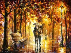 Colorful Impressionist Oil Paintings by Leonid Afremov
