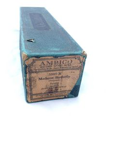 Madame Butterfly Potpurri  Antique Player Piano Roll 1912