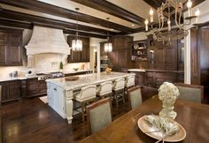 Gorgeous cabinetry.