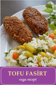 Tofu, Vegetarian Recipes, Healthy Recipes, Healthy Food, Vegas, Falafel, Cobb Salad, Bacon, Food And Drink