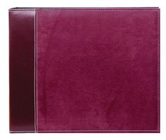 Pioneer 12 Inch by 12 Inch 3-Ring Faux Suede Cover Scrapbook Binder, Burgundy Pioneer Photo Albums,http://www.amazon.com/dp/B0014E7MOI/ref=cm_sw_r_pi_dp_xuPEsb0599HA8GSJ