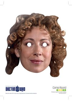 Doctor Who Mask River Song