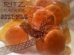 ~Ritz Cracker Brittle! | Oh Bite It