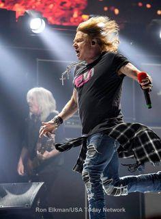 Axl Rose with AC/DC, 2016 #axlrose #rockicon #rockstar #axl/dc #RockOrBustTour
