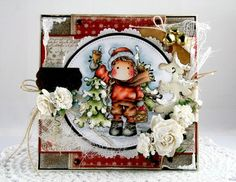 Jingle Bell Tilda & Winter Forest