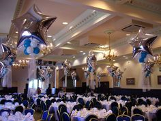 I've been on holiday but now I'm back Balloon Ceiling, Ceiling Lights, Prom Balloons, Matthew Lewis, Prom Decor, Senior Prom, Balloon Bouquet, 90th Birthday, Balloon Decorations