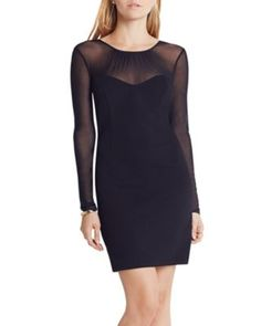 BCBGeneration Illusion Detail Dress | Bloomingdale's