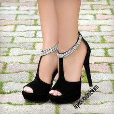 Follow us heels and more.. #shoes #black