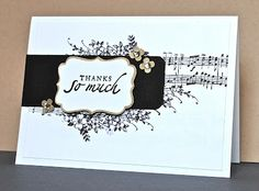 Music Notes wheel, Apothecary Arts, Sincere Salutations or other sentiment, Decorative Label punch
