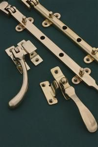 Traditional designs in casement window hardware, casement latches and casement fasteners. Sash window hardware   www.priorsrec.co.uk