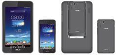 تسريب الصورة الرسمية لجهاز Asus Padfone Mini قبل الأعلان عنه الأسبوع القادم