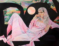 MARTINE JOHANNA - ARCADIA (2018, acrylic on linen)