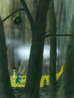 :: Sweet Illustrated Storytime :: Illustration by Julia Gukova :: The Wizard Of Oz