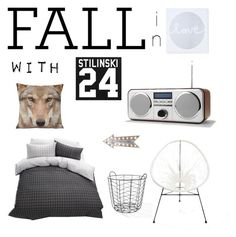 """""""Fall in Iove with Teen Wolf"""" by jacinda-boogerd on Polyvore featuring interior, interiors, interior design, home, home decor, interior decorating and bedroom"""