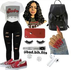 Summer Swag Outfits, Swag Outfits For Girls, Cute Swag Outfits, Teenage Girl Outfits, Cute Comfy Outfits, Teen Fashion Outfits, Teenager Outfits, Dope Outfits, Girly Outfits
