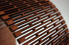 CNC Laser Kerfing Flexible Wood