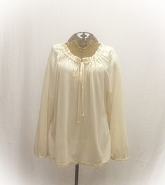 Vintage Hippie Peasant Blouse by MyVintageStyles on Etsy, $25.00 http://www.etsy.com/shop/MyVintageStyles