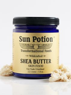 Shea Butter | Balance skin pH and enhance hydration with this pure, 100% unrefined shea butter. Rich in minerals, proteins and essential fatty acids, this deeply healing butter helps to reduce the appearance of fine lines and wrinkles while allowing the skin to breathe.    * 7.8 oz.   * **How to Use:** Apply to body, face and hair.