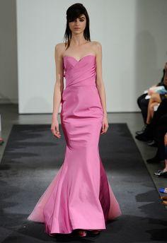 Vera Wang Fall 2014 Wedding Dresses, so inspired! Wedding Dresses 2014, Colored Wedding Dresses, Bridal Dresses, Wedding Gowns, Bridesmaid Dresses, Pink Dresses, Bridesmaids, Vera Wang Bridal, Vera Wang Wedding