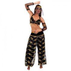 Bauchtänzerin Kostüm Fasching Damenkostüm Orient Kostüm