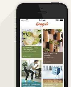 Snapguide app & website. A place for makers. Discover and create how-to guides on all your favorite topics.