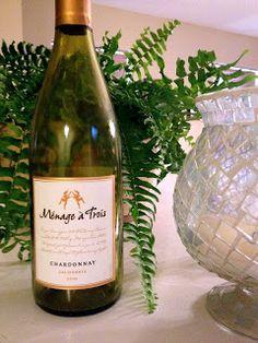 Ménage à Trois Chardonnay 2010 - Wine on the Dime