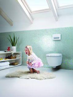 Frisse lucht op het toilet met Geberit DuoFresh. Door mies