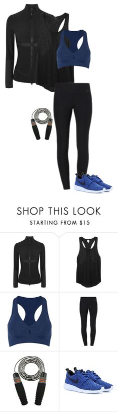 """Sports Bra"" by gone-girl ❤ liked on Polyvore featuring adidas, Monki, Bodyism and NIKE"