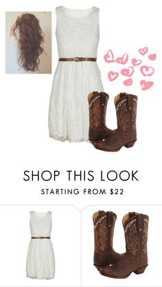 """""""country-would you wear it???"""" by sslootweg14 ❤ liked on Polyvore featuring Tony Lama, country, women's clothing, women, female, woman, misses and juniors"""