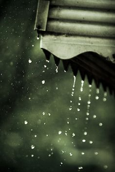 rainy days...reminds me of sitting under the awning on a rainy day at my grandma's when I was a child