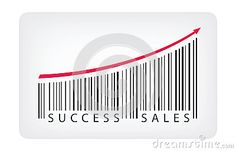 Success sales concept