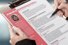 Resume & Cover Letter Template by DOMENICDESIGNS on Creative Market