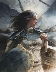 Nymeria, Princess of the Rhoynar by J.K. Drummond