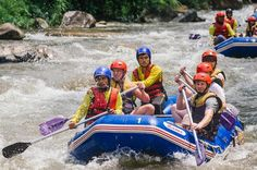 Whitewater Rafting with Elephant Trekking from Phuket  Take an exhilarating trip down rapids in this whitewater rafting adventure of a lifetime. This rafting package also includes an exciting jungle trek atop an Asian Elephant.Also visit Wat Suwannakuha – Also known as the Temple Cave and the Monkey Cave.A perfect all-rounder trip that will suit any traveler.Prepare for an adventure of a lifetime with all-rounder whitewater rafting package.Your day will begin with a pickup fro...