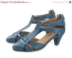 Hey, I found this really awesome Etsy listing at https://www.etsy.com/listing/151083313/on-sale-mona-aquamarine-blue-shoes