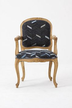 Anthro chair for living room - amazing with chaise!  A must!  (Will greatly help accomplish the look you love in Domino book)