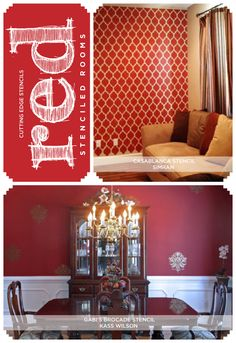 1000 images about dinner party af 300 red room for Navajo red benjamin moore