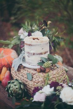 Farm to Table Dessert Display | Mintwood Photo Co. | A Forest Fairy Tale Anniversary Shoot with a Bohemian Picnic