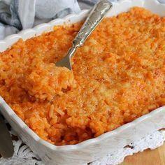 GRATIN DI RISO AL FORNO CREMOSO ricetta facile