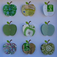 nice apple collage by sweet dimple